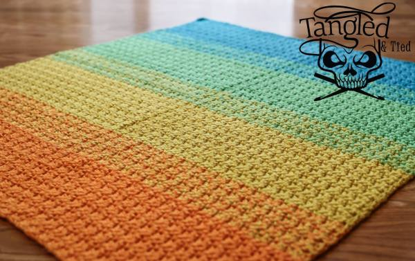 https://hodgepodgecrochet.wordpress.com Baby's Best Bumpy Blanket