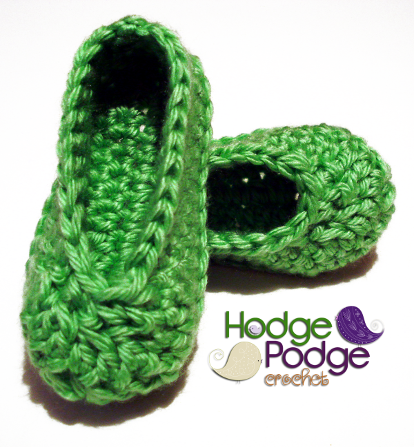 https://hodgepodgecrochet.wordpress.com: Basic Baby Shoes