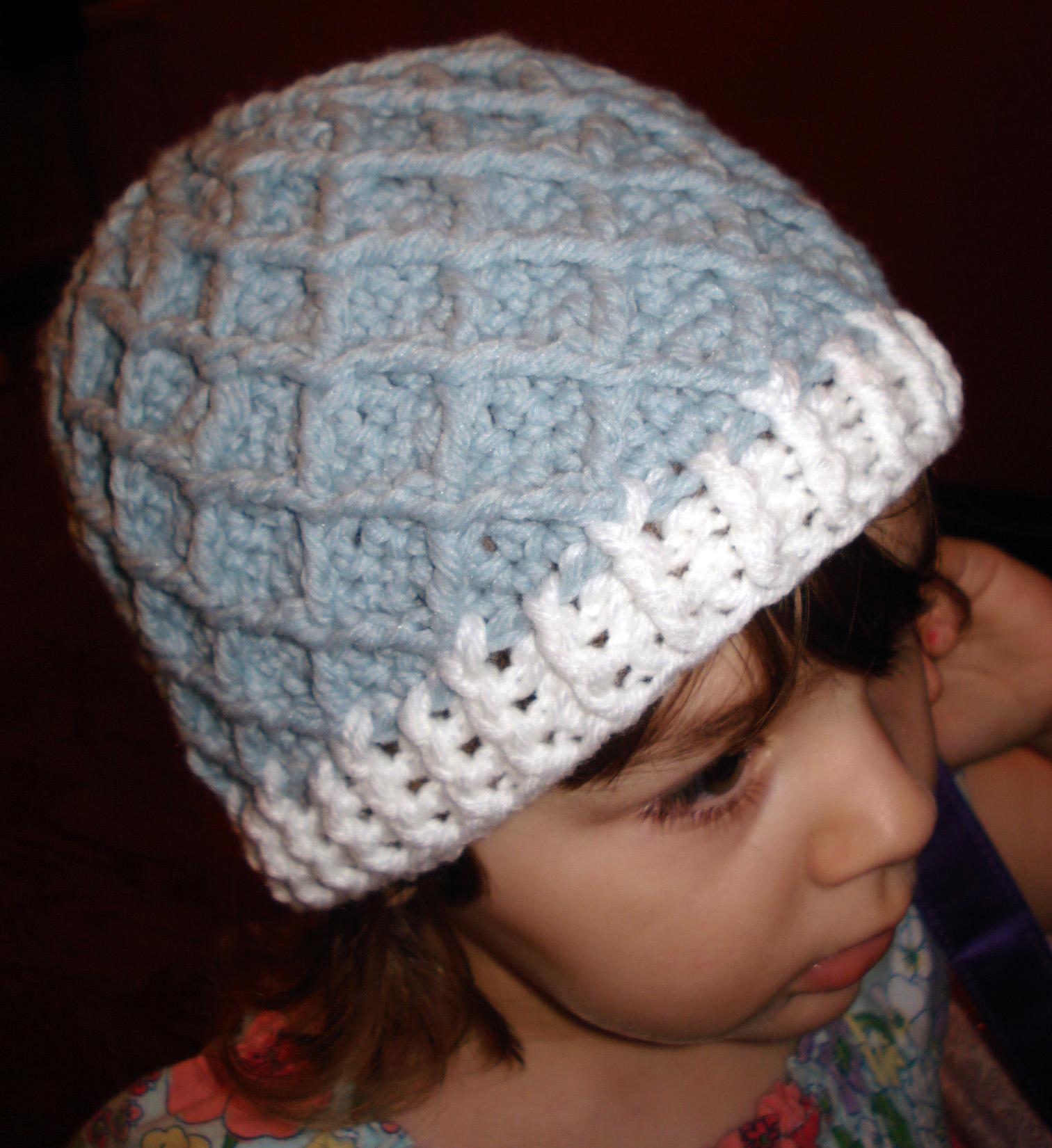 Crochet Pattern Central Baby Hats : Crochet Diamond Pattern Hat Hodgepodge Crochet Tattoo ...