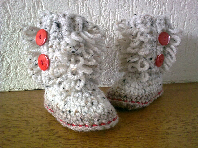 Loop Boots: Revisited! HodgePodge Crochet