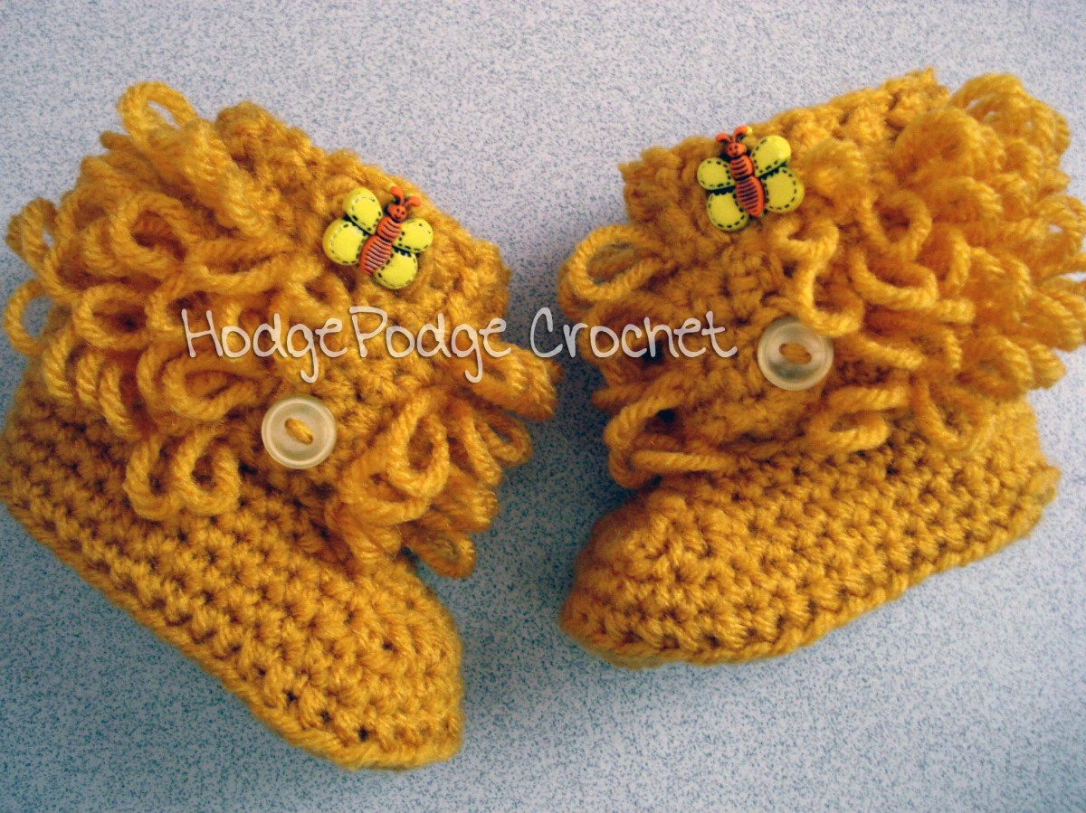 Loop Boots: Revisited! HodgePodge Crochet