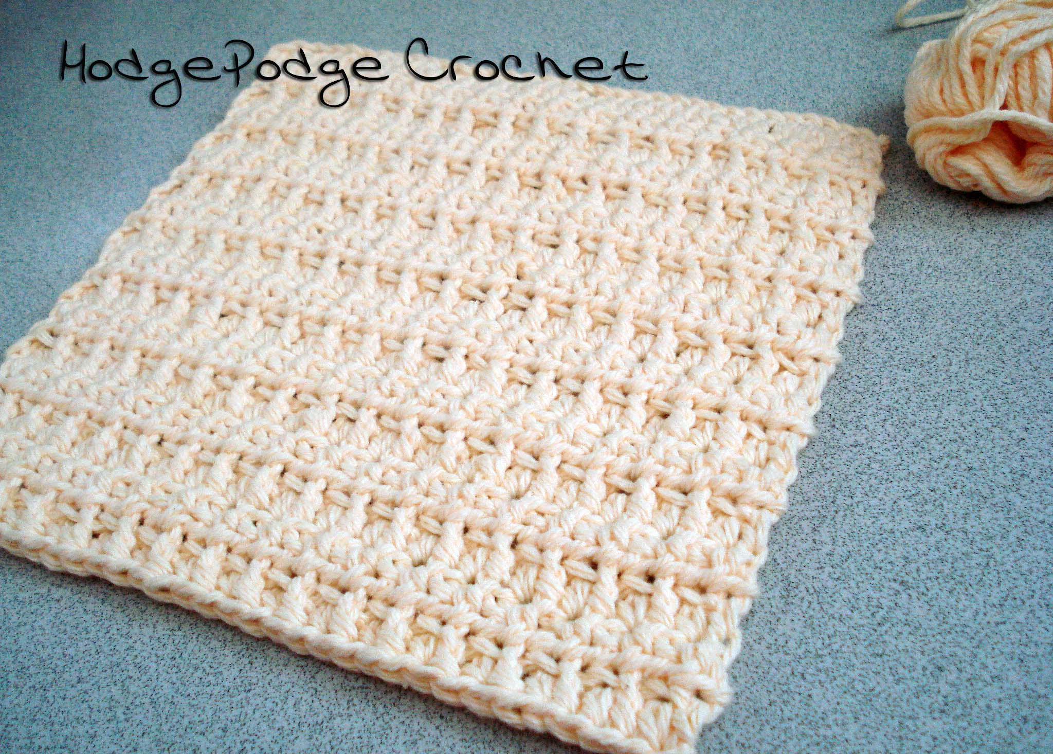 Washcloths for Charity | HodgePodge Crochet