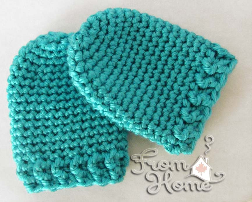 Infant Scratch Mitts Hodgepodge Crochet