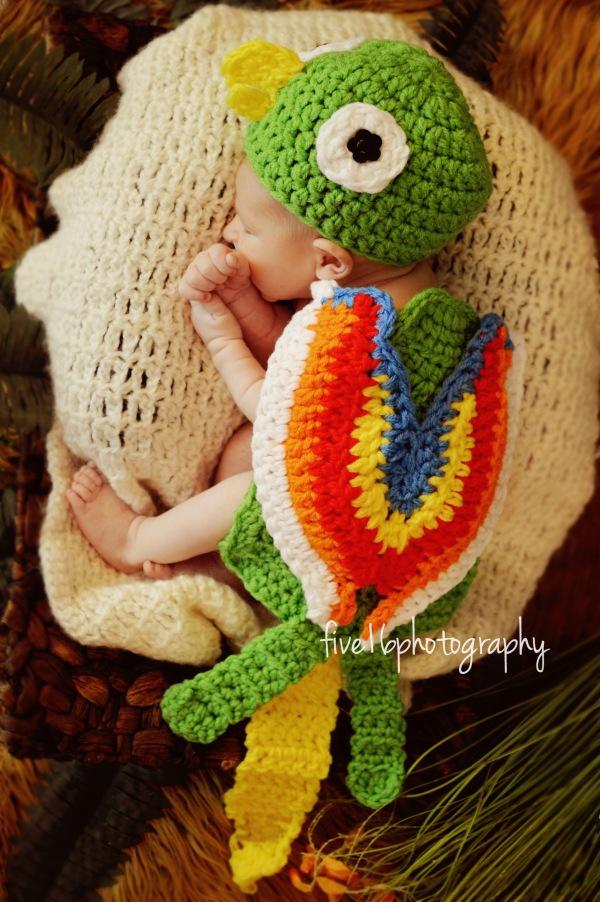 https://hodgepodgecrochet.wordpress.com Parrot Baby