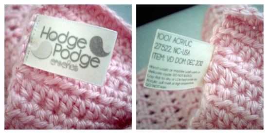 How to make your OWN labels! http://hodgepodgecrochet.wordpress.com