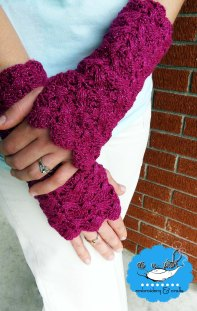 https://hodgepodgecrochet.wordpress.com/ Ari Wrap Wristers & Boot Cuffs