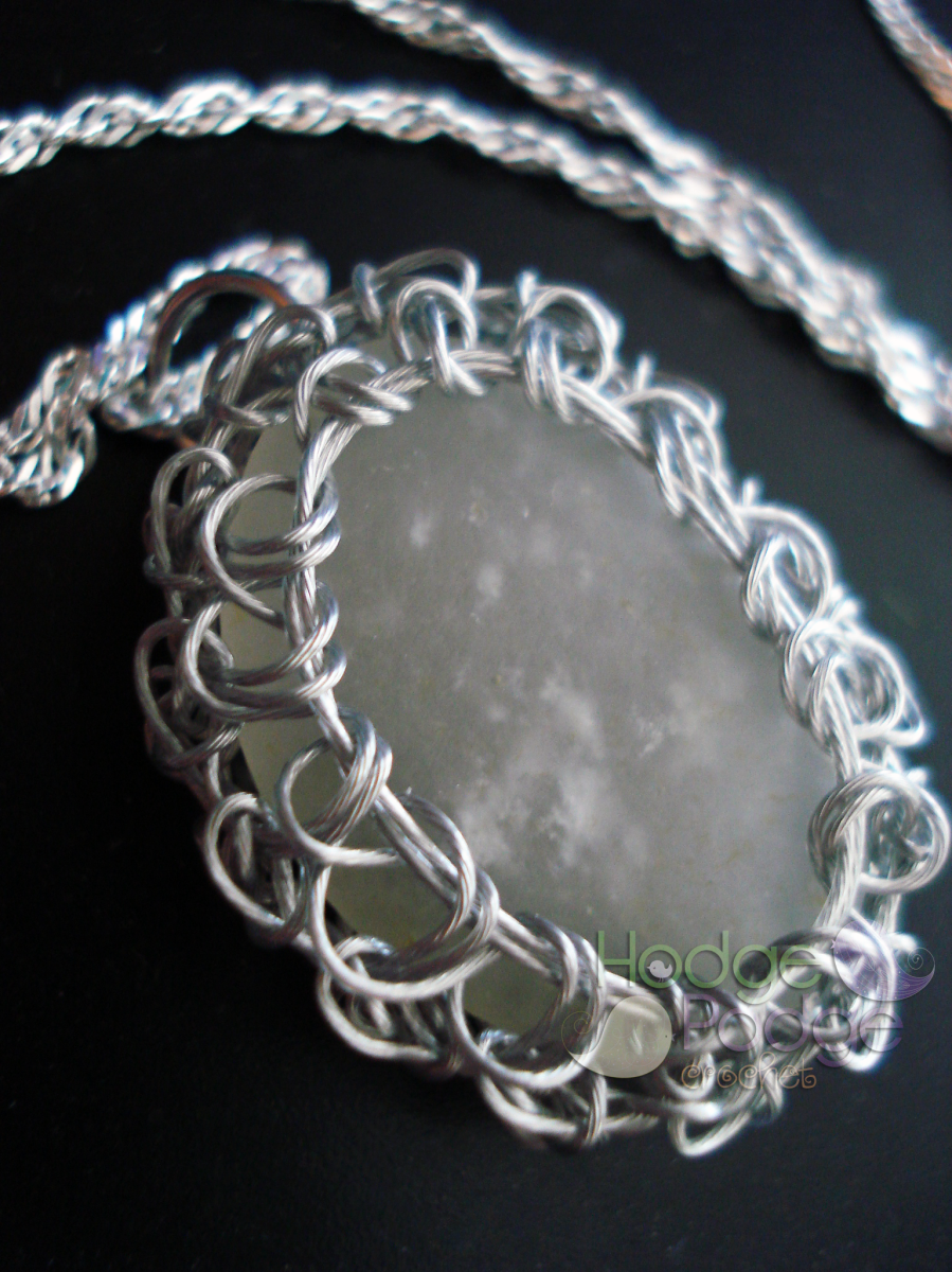 Crocheting Over Wire : Crochet Wire Wrapped Jewelry HodgePodge Crochet