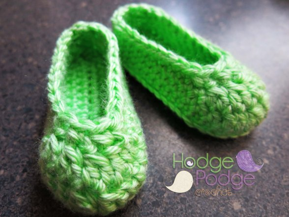 http://hodgepodgecrochet.wordpress.com/ Baby Bootie Blocking
