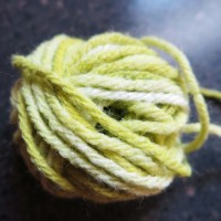 How to 'DYE' Acrylic Yarn
