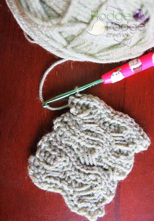 https://hodgepodgecrochet.wordpress.com/ Crochet Indian Cross Stitch