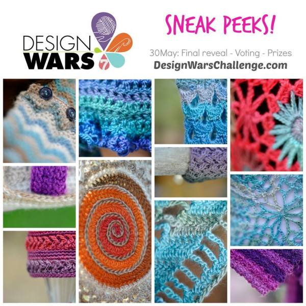 https://hodgepodgecrochet.wordpress.com Design Wars 7 Sneak Peeks