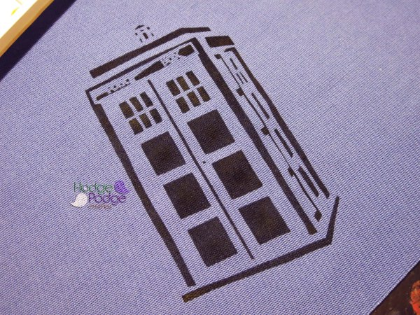 https://hodgepodgecrochet.wordpress.com Doctor Who and the TARDIS