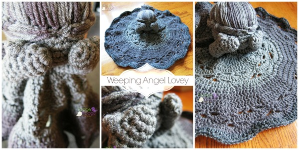 https://hodgepodgecrochet.wordpress.com The Angels Take HodgePodge: Weeping Angel Lovey