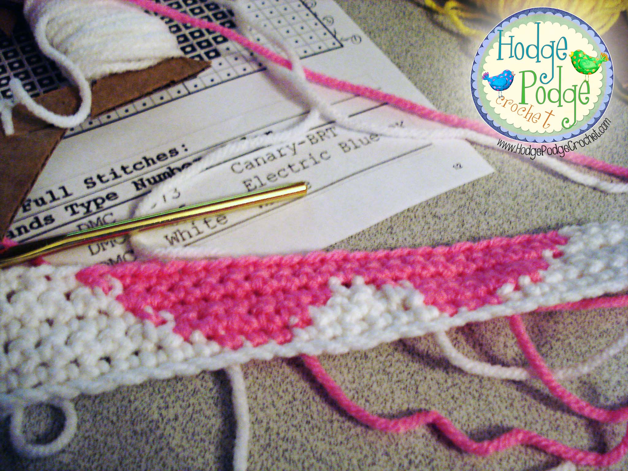 Crocheting Made Easy : Tapestry Crochet Made Easy HodgePodge Crochet