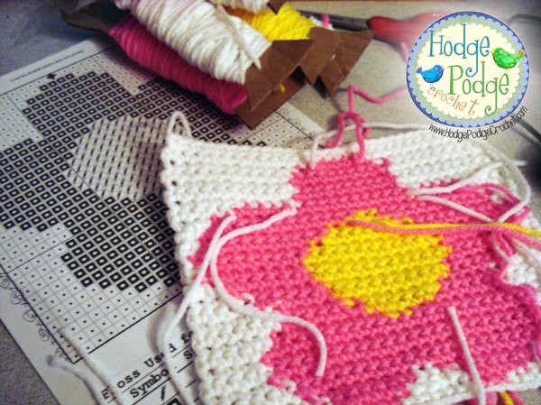 https://hodgepodgecrochet.wordpress.com Tapestry Crochet Made Easy