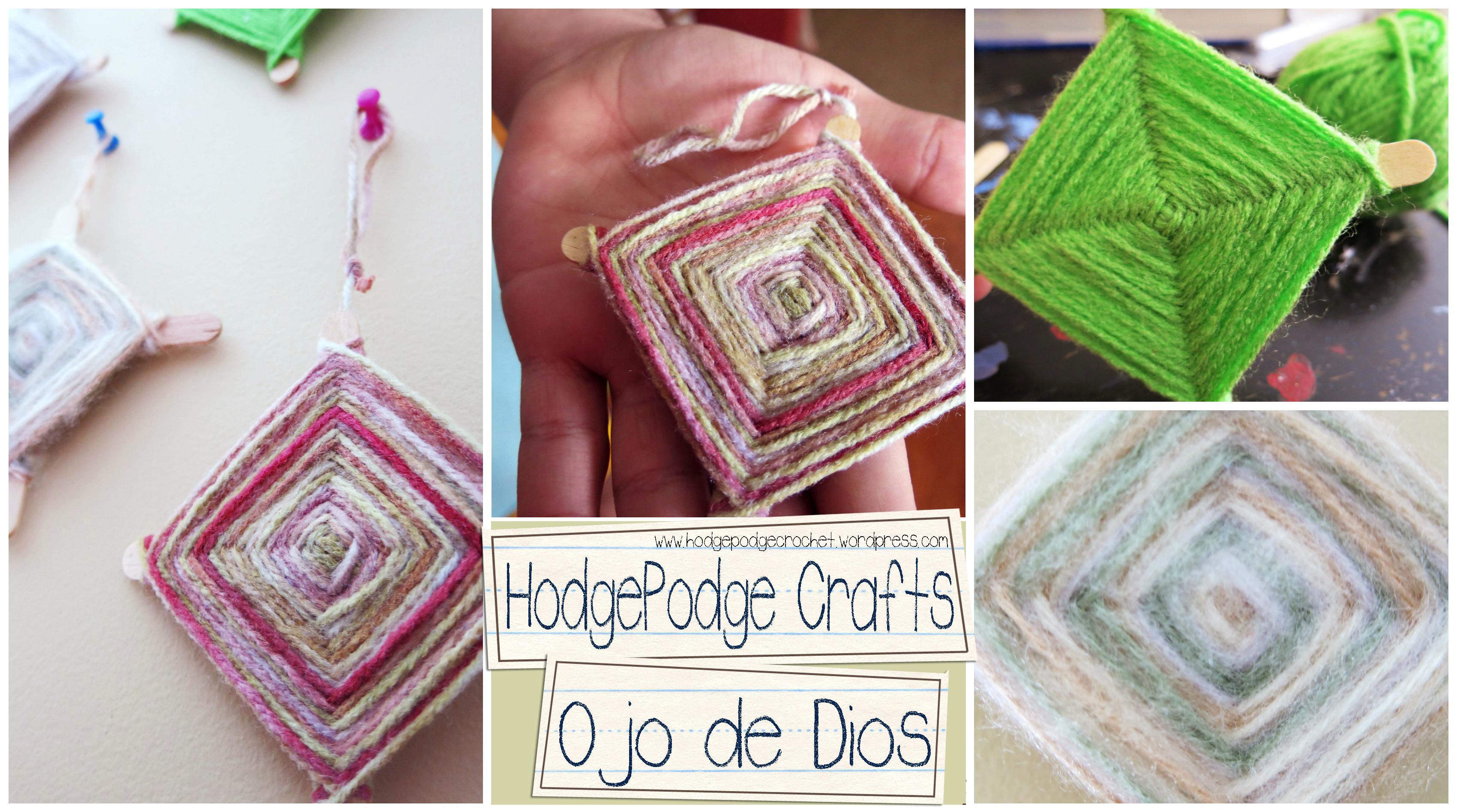 HodgePodge Crafts: Ojo de Dios