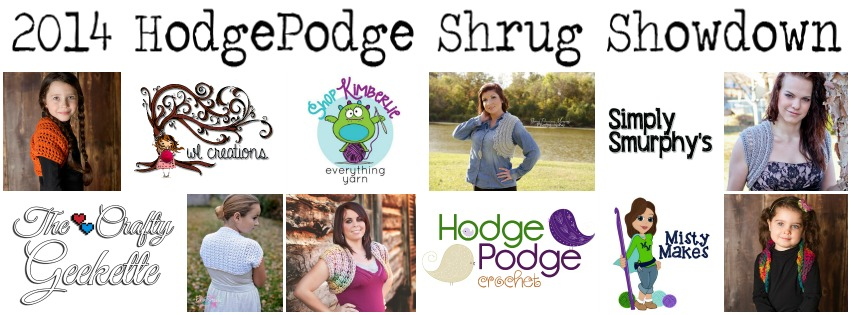 https://hodgepodgecrochet.wordpress.com Shrug Showdown 2014