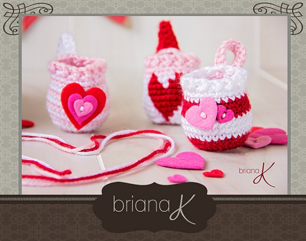 https://hodgepodgecrochet.wordpress.com :: Valentine Roundup :: BrianaK
