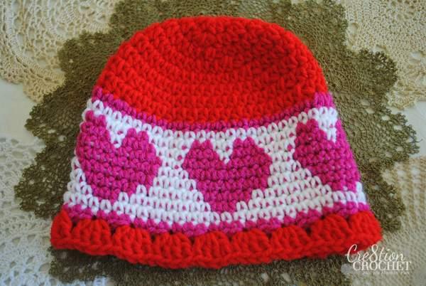 https://hodgepodgecrochet.wordpress.com :: Valentine Roundup :: Cre8tion Crochet