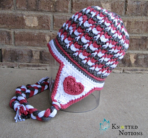 https://hodgepodgecrochet.wordpress.com :: Valentine Roundup :: Knotted Notions