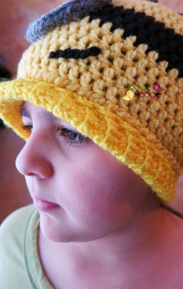 https://hodgepodgecrochet.wordpress.com Adding Length to a Crochet Hat