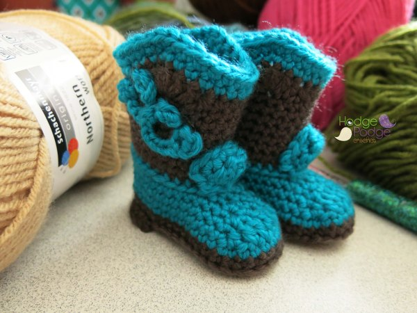 HodgePodge Crochet Video Tutorial: Cowboy Boots
