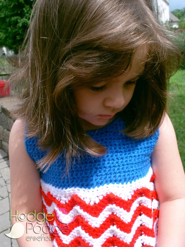 HodgePodge Crochet Classic Chevron Tank Top