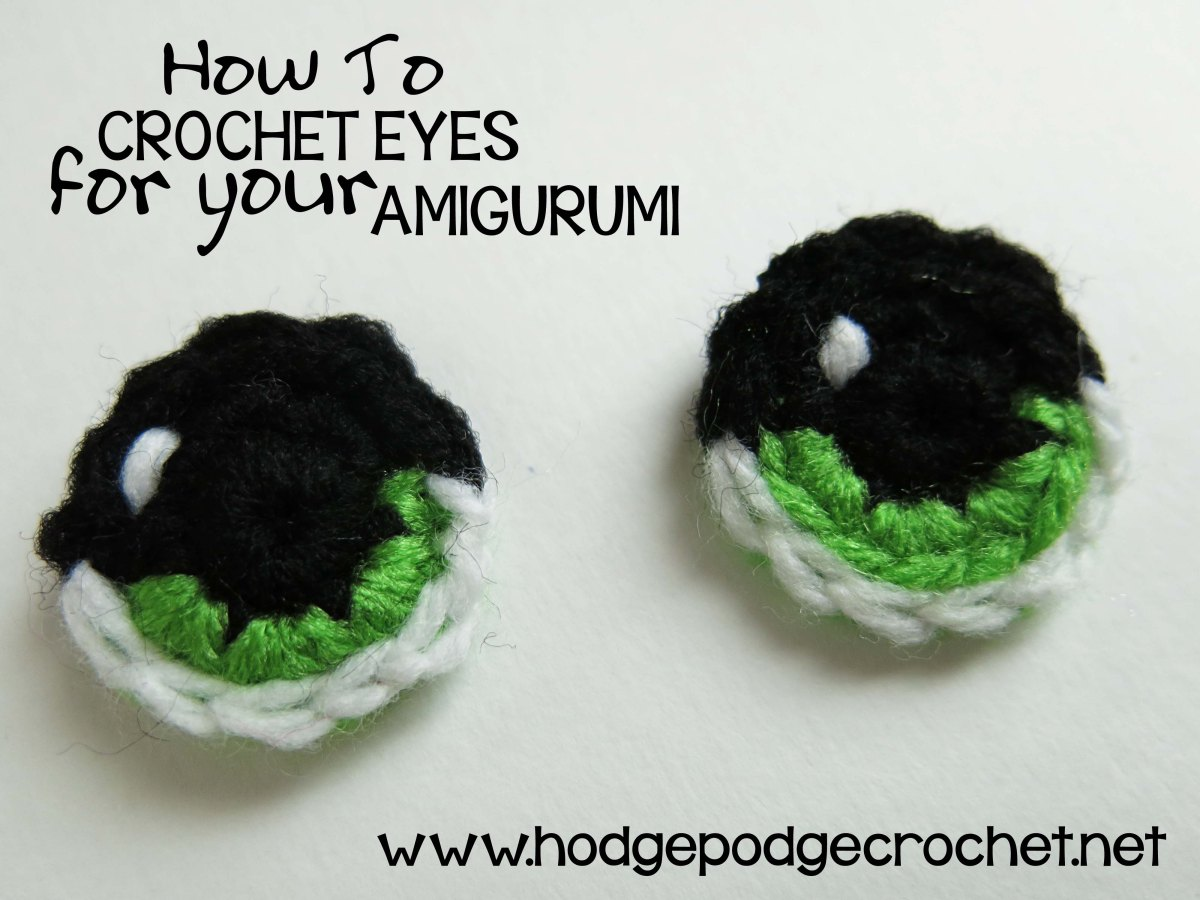 How To Crochet Eyes For Your Amigurumi
