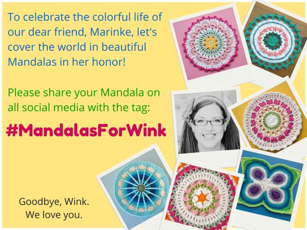 #MandalasforWink