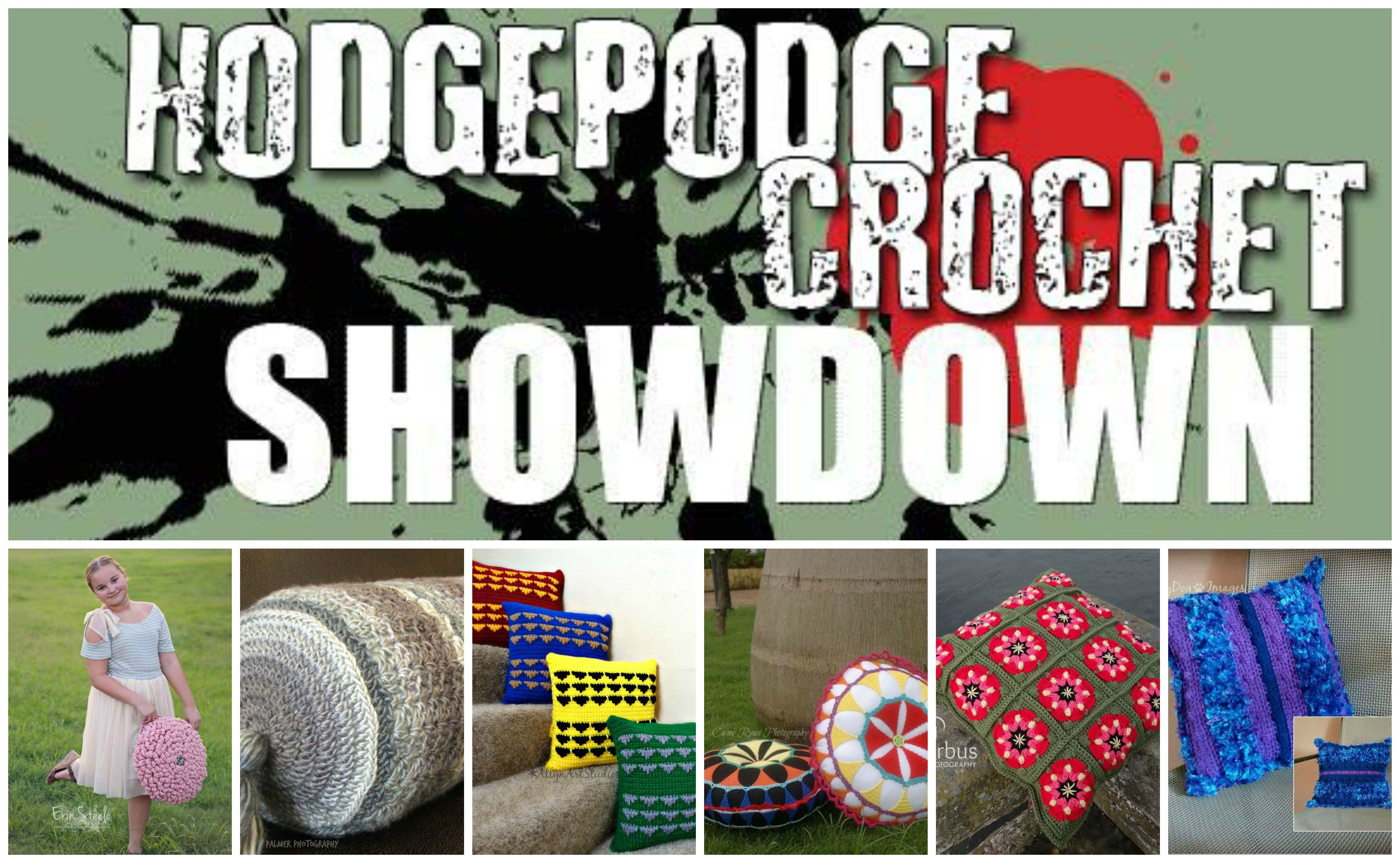 HodgePodge Crochet Pillow Showdown WINNER!!