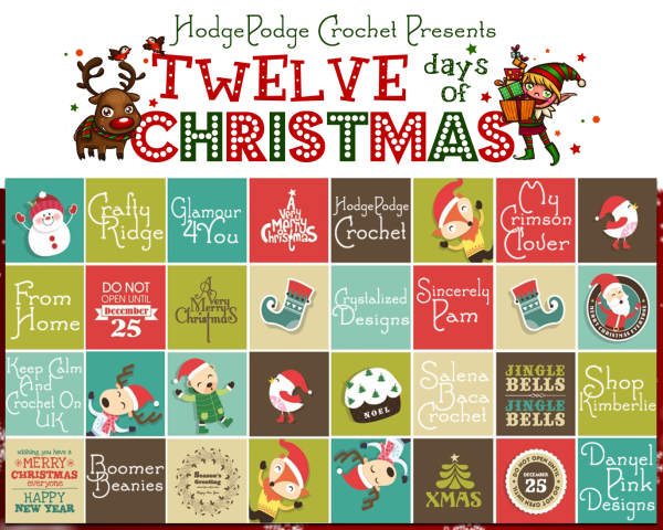 HodgePodge Crochet Celebrates 12 Days of Christmas